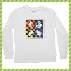 Harry Potter x Vans Hogwarts long sleeve T shirt S